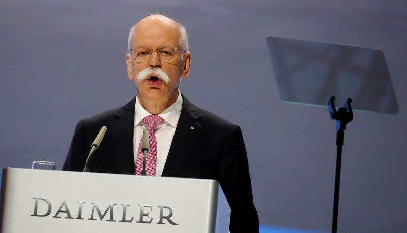 Daimler Investors push for independent chairman as Zetsche bows out