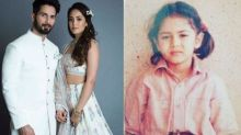 Mira Rajput's Unseen Childhood Picture In A White 'Ghagra-Choli' Proves She Is A Born Fashionista