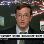 Former Trump Transition Official Calls For Impeachment: 'This Is Serious Stuff'