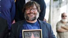 Jack Black takes aim at Donald Trump as he receives star on Walk of Fame