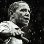 Twitter Pelts Trump With Photos Of Obama In The Rain After He Ditches Cemetery Visit