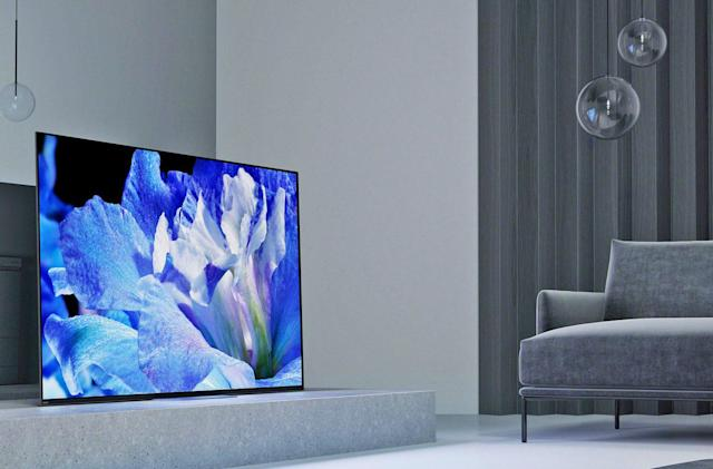 Sony's 2018 OLED TV starts at $2,800