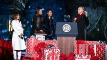 Sasha Obama's $695 Christmas-Tree-Lighting Coat Just Made It to the Top of Our Wish Lists