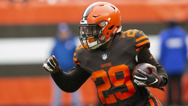 Does Kareem Hunt's suspension make a Duke Johnson trade less likely?