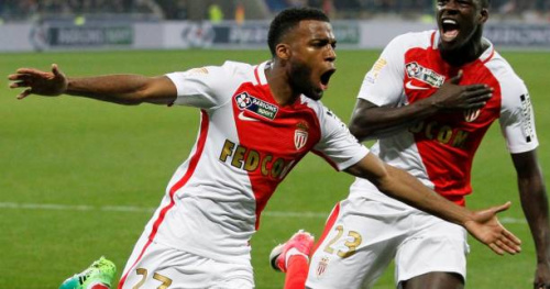 Foot - C.Ligue - Vidéo : le but superbe de Thomas Lemar (Monaco) en finale de la Coupe de la Ligue