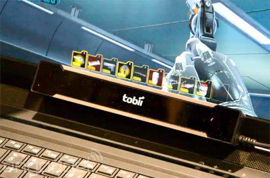 Eyes-on with Tobii's eye-tracking tech in Deus Ex