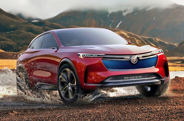 Buick's offroad EV concept boasts an ambitious 370-mile range