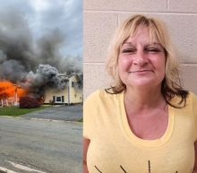 Maryland woman accused of setting home on fire and watching it burn from a lawn chair