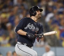 Braves beat Dodgers 12-3 after Wood unravels in 1st loss