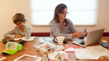 Sick of sharing your work space? Use these designer hacks to set up an efficient home office