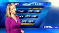 Eileen's Saturday Morning Forecast 1.19.13