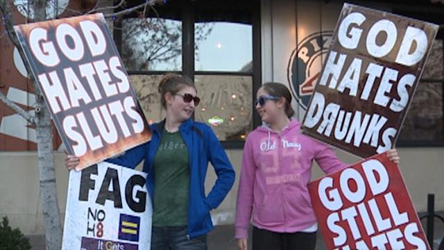 Westboro Baptist Church Confronted
