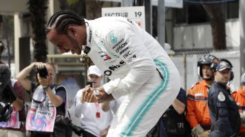 Hamilton, Pagenaud and Byron on pole in motorsports' big day