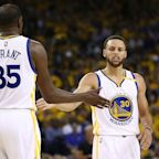 NBA: Curry, Durant say Warriors' perfect record counts for nothing yet