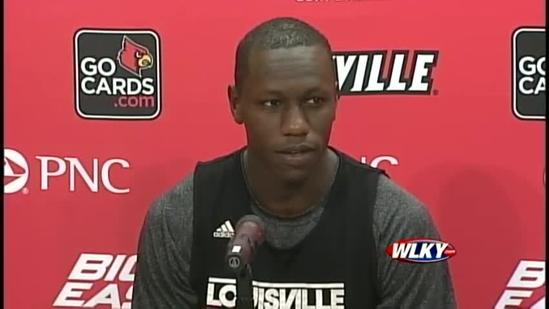 Gorgui Dieng talks about his experience at UofL