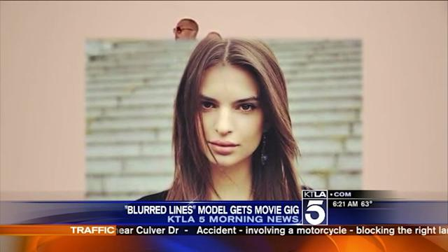 `Blurred Lines` Beauty Lands Film Role
