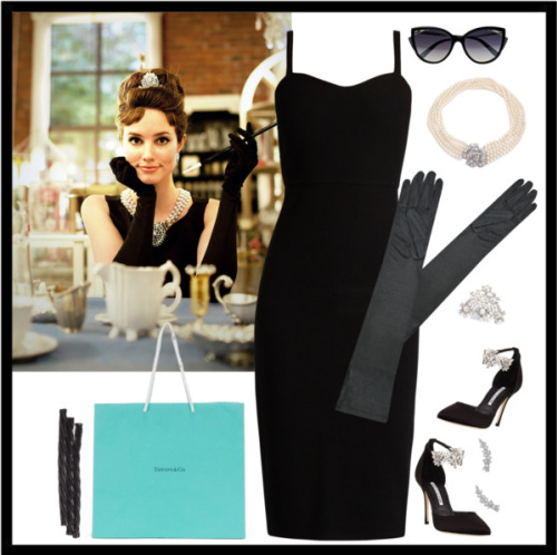 Audrey Hepburn, Breakfast at Tiffany's Halloween costume