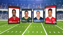 4 teams battle for a spot in the Super Bowl
