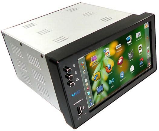 VIC Ltd NaviSurfer II UBU-3G in-car PC gets built-in GPS -- finally