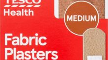 Tesco launches range of plasters to match different skin tones