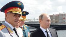 Russian defence minister tells UK it cannot 'tell our bear what to do'