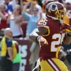 Redskins to play it safe with RB Chris Thompson