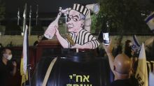 Israeli protesters call for new investigation of Netanyahu