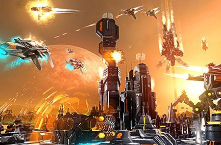 First look at sci-fi RTS Etherium