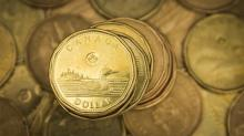 Canadian dollar pares some losses after hitting a two-week low