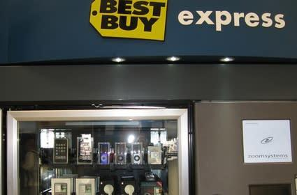 Best Buy selling iPods in a vending machine