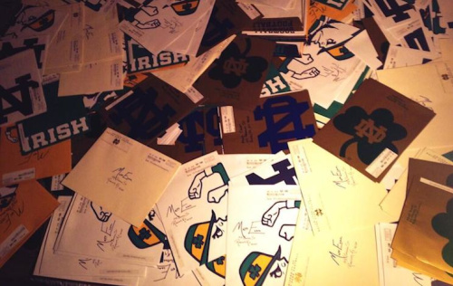 Kentucky defensive tackle prospect Matt Elam received 262 letters from Notre Dame in one day — Twitter