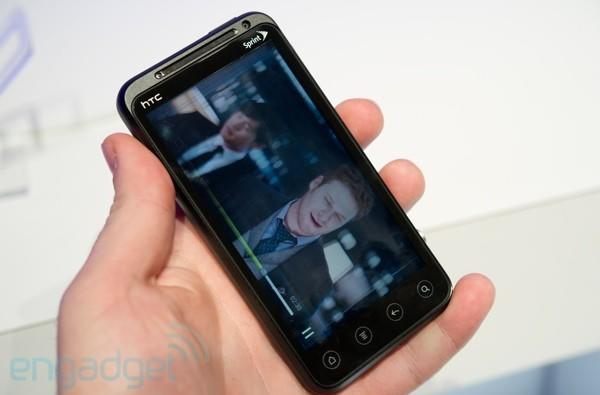 HTC EVO 3D first hands-on! (video)