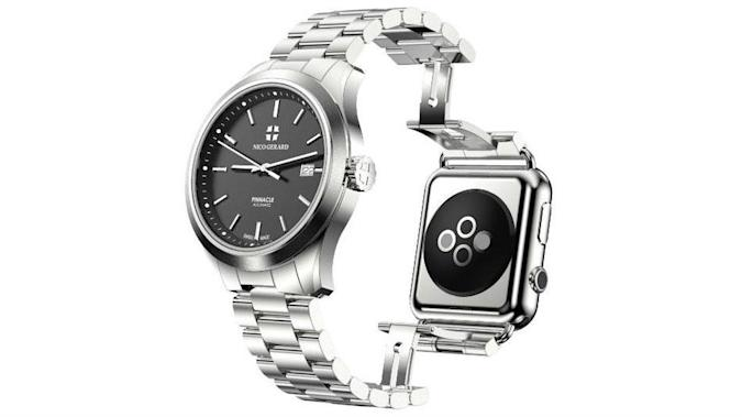 Finally, a $9,000 watch that attaches to your Apple Watch