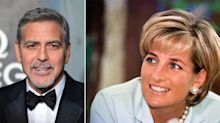 Remembering George Clooney's passionate speech after Princess Diana's death