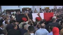 Funeral held for Egypt's ex-intelligence chief