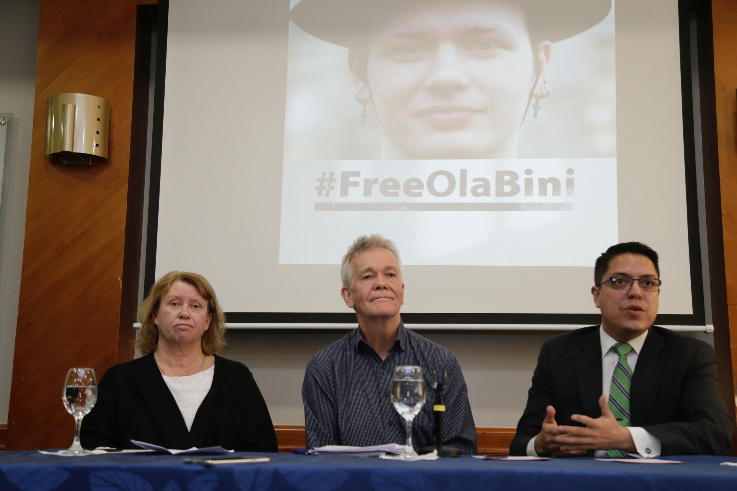 """The parents of a Swedish programmer who was an early ally of Julian Assange and Wikileaks and who has now been accused of trying to blackmail Ecuador's president, is facing threats in jail, his parents have claimed.Ola Bini, 36, was arrested last Thursday in Ecuador, hours after Mr Assange was detained by police in London who entered the Ecuadorian embassy. Mr Assange was charged with skipping bail by a London judge, while the US charged him with conspiring with whistleblower Chelsea Manning to hack a US computer. Defenders of Mr Assange say the US is trying to punish the Wikileaks founder for exposing embarrassing and damaging information about Washington's actions, including the behaviour of its troops in Iraq and Afghanistan.Prosecutors in Ecuador, have said they intend to charge Mr Bini, a longtime Wikileaks defender, with seeking to blackmail Ecuadorian president Lenin Moreno, who turned against Mr Assange and invited the British authorities to enter the embassy last week and arrest him.On Tuesday, Mr Bini's parents, Dag Gustafsson and Gorel Bini, professed their son's innocence and said they would remain in Ecuador until he was released. """"We want to say that Ola is not feeling safe, because of some threats inside,"""" Mr Gustafsson told reporters.His wife added: """"Right now, he's ok. But he's worried.""""Last week, Ecuador's interior minister Maria Paula Romo, told local media the Swedish coder, who has long worked with social justice groups, had been arrested for """"investigative purposes"""".""""For several years now, one of the key members of this WikiLeaks organisation and a person close to Mr Julian Assange has lived in Ecuador, and we have sufficient evidence that he has been collaborating with the destabilisation attempts against the government,"""" she said.According to the Associated Press, she added: """"It's up to the justice system to determine if he committed a crime. But we can't allow Ecuador to become a centre for piracy and spying. That period in our history is ov"""