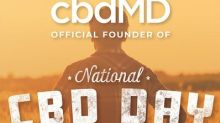 cbdMD Celebrates National CBD Day as Official Founder