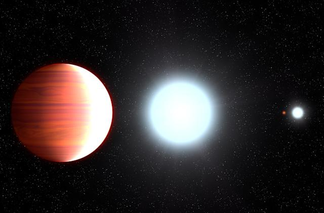 It rains sunscreen on this 'hot Jupiter' exoplanet