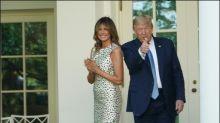 Melania Trump lässt Rosengarten des Weißen Hauses auf Vordermann bringen
