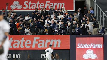 Yankees fans keep their cool in Game 5