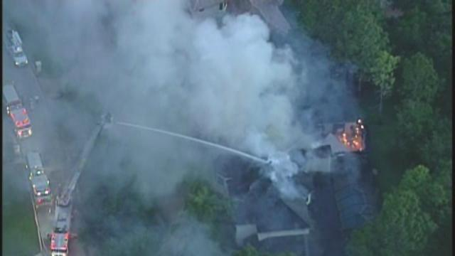 RAW video: Fire in Tampa-area neighborhood of millionaires