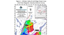 Maritime Resources Samples 19.1 gpt Gold, 69.6 gpt Silver and 3.0% Copper in New Outcrop at Whisker Valley - Expands Exploration Program