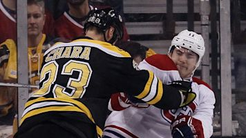 Chara apologizes to Gallagher for cross-check