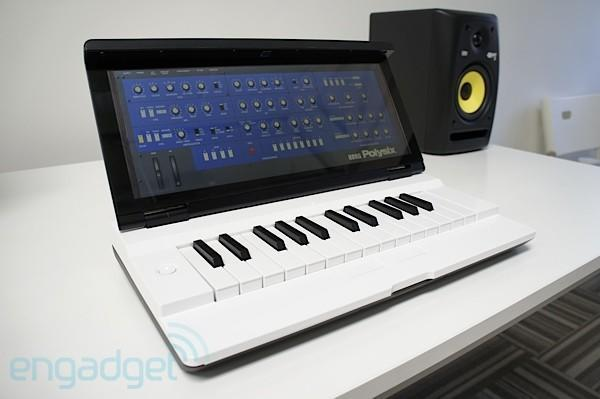 Miselu Neiro synth at Google I/O: exclusive first look at apps from Korg and Yamaha (video)