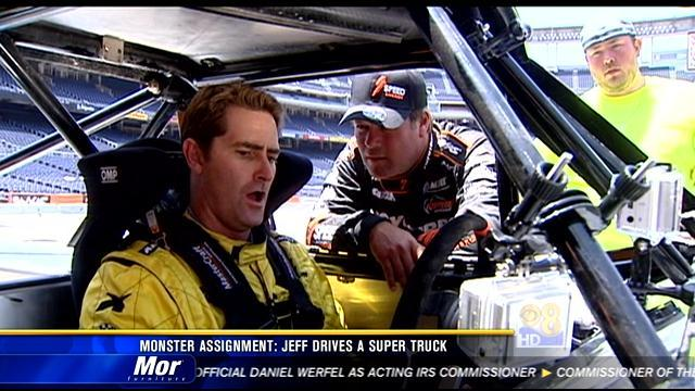 News 8's Jeff Zevely gets behind the wheel