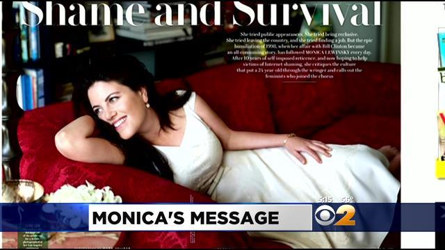 Monica Lewinsky Ready To Move On From Scandal That Made Her Famous