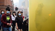 Sydney smoke haze to continue as fires rage on with no rain due for months