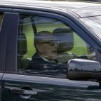 Mum-of-two injured in crash involving Prince Philip says he is yet to apologise - as he is pictured back behind the wheel