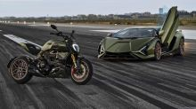 Ducati channels the Lamborghini Siàn's design DNA into the 1260 Diavel