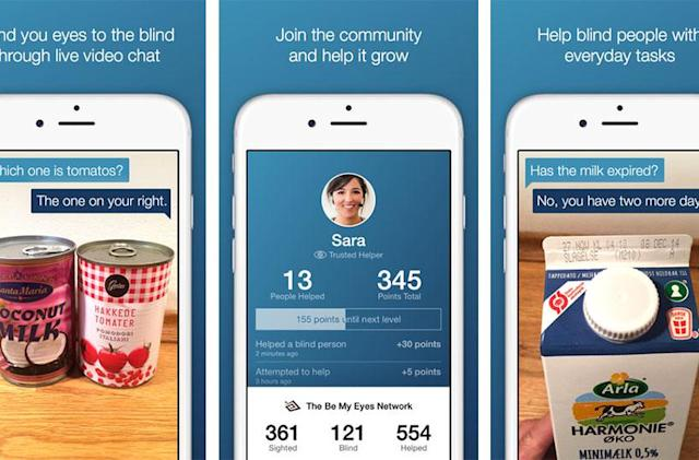 'Be My Eyes' iPhone app lets you help the blind using video chat